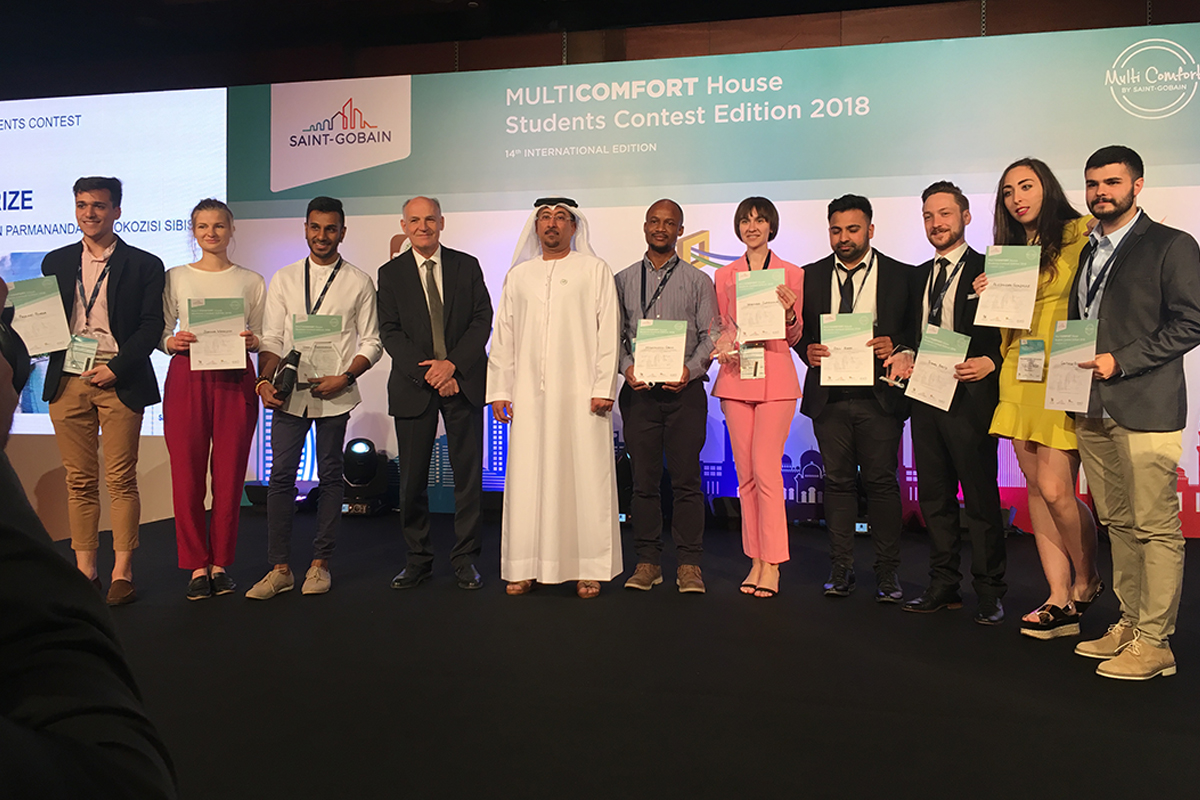 Saint-Gobain announces the winners of the 14th edition of its multi comfort house students contest